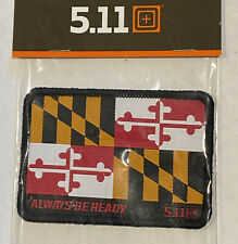 5.11 TACTICAL ** MARYLAND FLAG ** MORALE PATCH ~ AMAZING !!