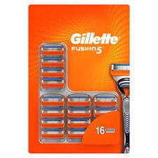Gillette Fusion 5 Manual Razor Blades 1 x 16 Pack