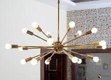 Modern Brass Sputnik Chandelier light fixture 18 Lights Chandelier