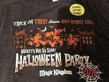 Disney Mickey's Not So Scary Halloween Party Magic Kingdom 2019 Tshirt Unisex 2x