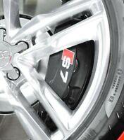 4 Pegatinas sticker decal brake caliper Audi sport S7 Sline Rs pinzas freno 8 cm