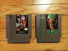 Vintage Nintendo NES 85' NFL Power Play & Tecmo Football