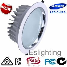 20W WHITE SAMSUNG DIMMABLE LED SHOP DOWNLIGHT COMMERCIAL REPLACE 100W HALOGEN