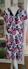 NWOTS.Jane Lamerton jersey dress.SzM.Vibrant floral.Soft stretch for easy fit.