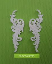 Decorative resin mouldings furniture applique shabby chic onlay scrolls nm2