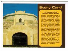 Postcard: The Round House, Fremantle, Western Australia - Story Card