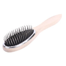 1x Steel Tooth Plastic Wood Comb Wig Hair Brush Anti-static for Mannequin Head