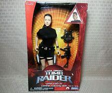 Lara Croft Tomb Raider 2001 Playmates Toys Movie Angelina Jolie 12 inch Doll