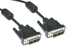 Dvi-i A Dvi-i Video Cable de plomo 5m Nuevo