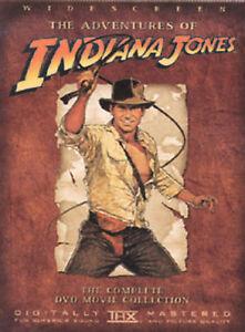 Indiana Jones - The Adventure Collection (DVD, 2003, 4-Disc Set, Widescreen)