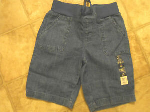 Girls Faded Glory Bermuda Shorts Sz 4-5,6-6x,7-8,10-12,14-16 Blue