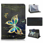 """For Ipad 8Th Generation 10.2"""" 2020 Keyboard Universal Leather Stand Case Cover"""