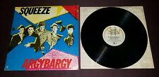 Squeeze LP Argybargy 1981 A&M SP-3232 exc w/ inner sleeve