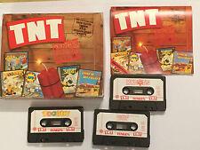 5 AMSTRAD CPC TAPE TNT GAMES HARD DRIVIN' TOOBIN A.P.B. DRAGON SPIRIT & XYBOTS