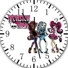 Monster High Frameless Borderless Wall Clock For Gifts or Home Decor E134