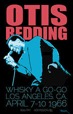 Otis Redding 1966 Tour Poster