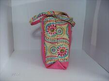 New Tote Bag Homemade No Tags Screen Print / Twill Pink