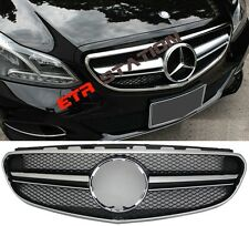 E63 AMG Style Front Grille For Mercedes Benz W212 Facelift Sport/Avantgarde