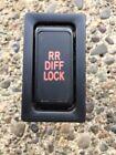 1996-2002 Toyota 4Runner Rear RR Diff Lock Switch OEM #156538