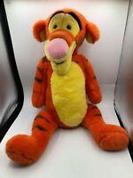 Large Winnie The Pooh Tigger Tiger Disney Store Plush Stuffed Toy Animal Doll