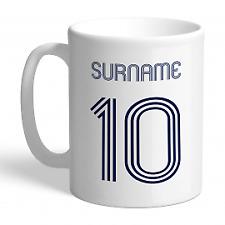 Tottenham Hotspur F.C - Personalised Ceramic Mug (RETRO SHIRT)