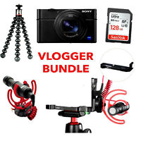 Sony RX100 VII Digital Camera Mark Mk 7 with Vlogger Bundle Kit / Stock in UK