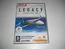 Legacy EXECUTIVE JET PC add-on Simulatore di volo x e 2004 FS2004 Cockpit NUOVO SIGILLATO