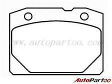Lada 1200-1600, 1200-1500 (1970 onwards) *New* Front Brake Pad Set Supra MTT84