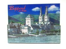 Boppard Rhein 3D Holz Souvenir Magnet Germany Rheinland Pfalz