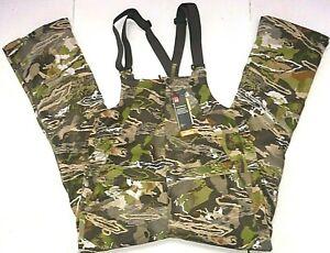 Under Armour Storm Mid-Season Hunting Bib Men's L/G Forest Camo 1316872-940, New
