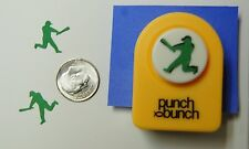 Small Punch Bunch BASEBALL PLAYER Paper Punch-Quilling-Cardmaking-Scrapbooking