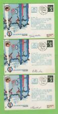 G.B. 1974  13 x The Falcons, RAFA Air Display Team RAF Flown & Signed covers