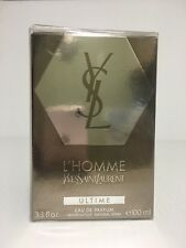L'HOMME ULTIME YVES SAINT LAURENT MEN COLOGNE EDP SPRAY 3.3 oz 100 ML NIB