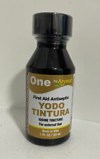 Yodo Tintura / Iodine Tincture First Aid Antiseptic Made In 🇺🇸 🇺🇸 🇺🇸