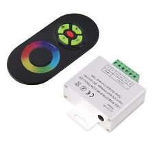 RF Wireless Touch Panel Remote Controller For RGB LED Strip Light DC 12V/24V UL