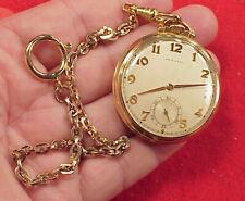 Vintage Pocket Watch Hamilton 921 Mdl 1 10s 21J in a Hamilton 14k Gold Filled