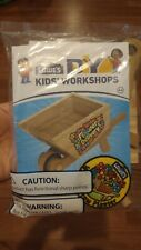Lowes DIY Build and Grow Workshop Wood Kits, Wheelbarrow Planter kit, DIY Kits