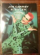 Batman Forever Movie Trading Cards Promo Card 1 of 5 THE RIDDLER Unocal 1995