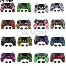 Sony PS4SlimPro Wireless Controller Waterproof Rubber Sillicone Cover + 2 Caps