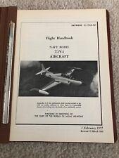 O 00004000 riginal Flight Handbook Navy Model T2V-1 Navweps 01-75Fjd-501 15 March 1960