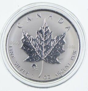 2008 Canada 5 Dollars 1 Oz Silver Maple Leaf Privy Mark World Silver Coins *741