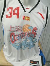VINTAGE ANTA Shanghai Octopus Sylvia Fowles #34 6XL AUTHENTIC JERSEY CHINESE
