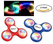 Bangers Spinner doigt Craze Lot de deux 2 Fun Thérapie jouet jouets Spinners Lights