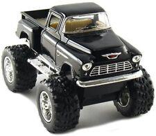 Kinsmart OffRoad Big Foot Monster 1955 Chevy Stepside PickUpTruck 1:32 BLACK 4x4