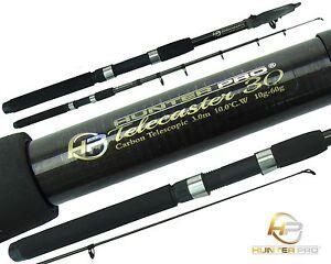 Telescopic 6ft 7ft 8ft 10ft Fishing Rod Carbon Travel Stalking Pike spinning Rod