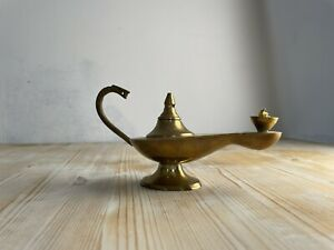 Aladdin Lamp Genie Lamp Magic Lamp Candle Brass Lamp