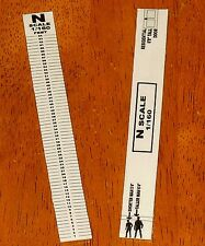 NEW! Long Scale Ruler For Modelers in N Scale (1/160)