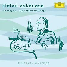 STEFAN ASKENASE - COMPLETE 1950S CHOPIN RECORDINGS  7 CD NEW+