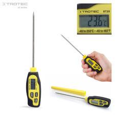 TROTEC BT20 Thermomètre sonde, thermomètre à piquer -40 °C à +250 °C