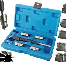 5pc Diesel Injector Seat Cutter Set Delphi Bosch Bmw Merc CRD PSA Ford Fiat